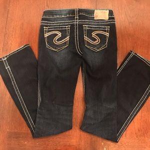 Dark Wash Silver Jeans